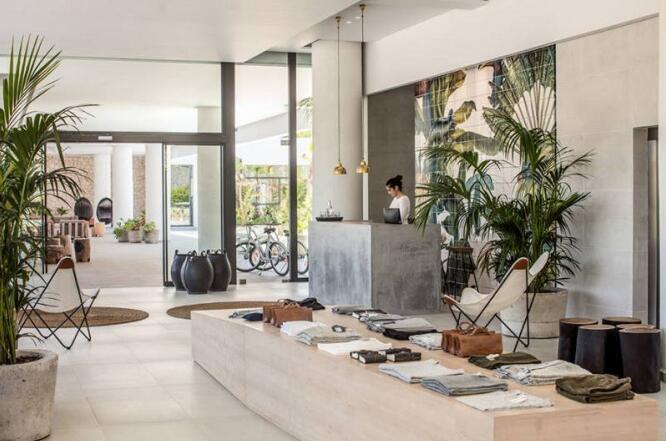 商业空间装修案例——希腊罗德岛的酒店Casa Cook