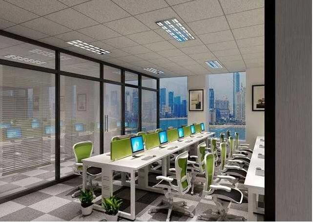 在现代办公室装修设计中,要想让我们的办公空间变大,建议经营者在进行设计的过程中,对于那些高于头顶的空间应安置收纳柜。一般来说,对于那些办公桌、玄关以及阳台等空间的顶部安装收纳柜,会比在地面放置家具或墙壁设置搁板效果好。值得注意的是,在收纳柜里也可以放一些不经常使用,但又不可或缺的生活用品。