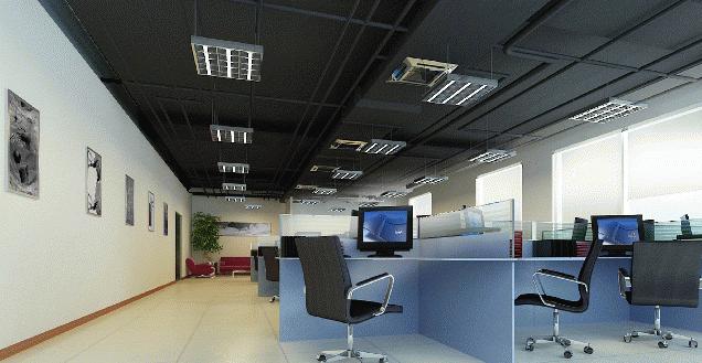 办公室装修吊顶效果图
