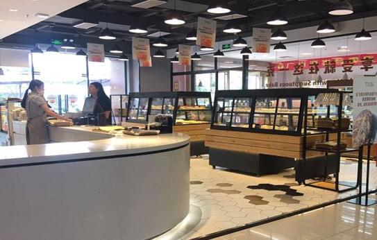深圳面包店装修效果图