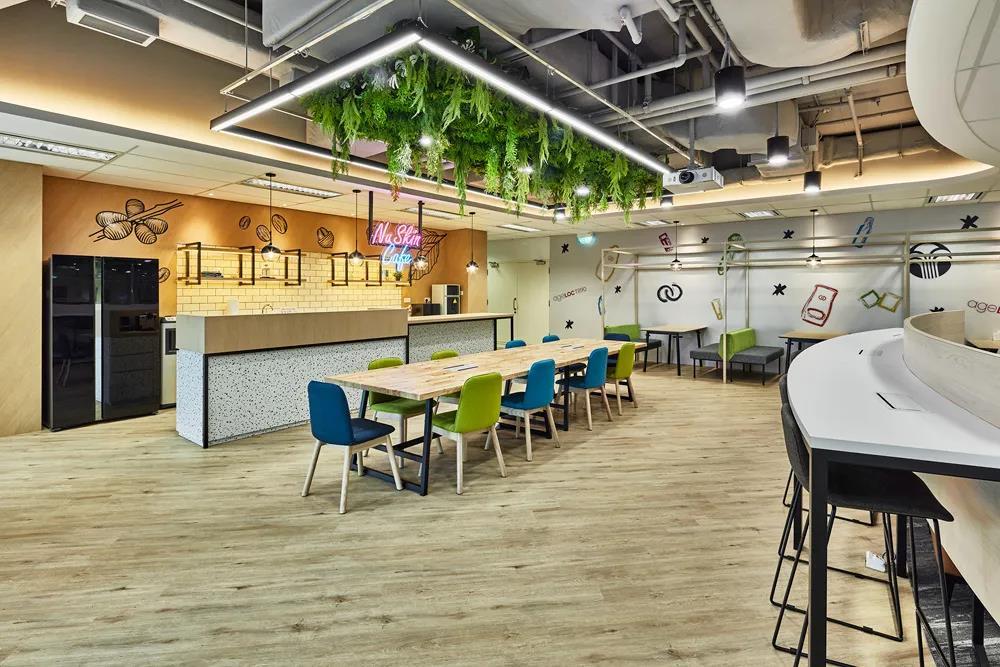 合作的便利性和生产效率是办公室装修设计的重点