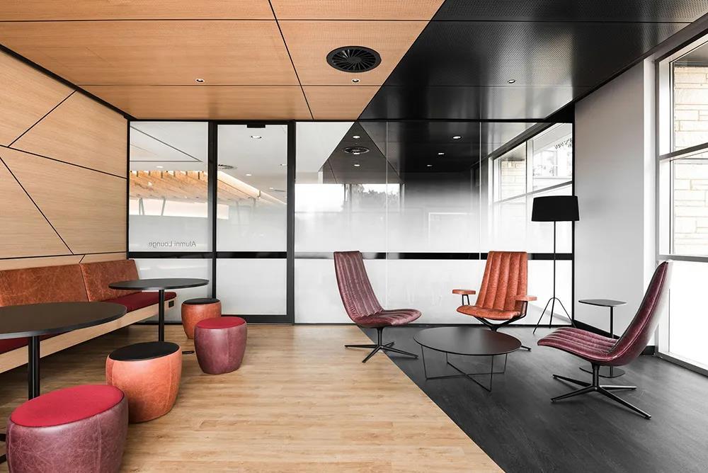 图书馆装修设计主题为个人和重点学习而设计